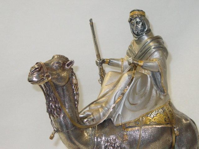 Arabian Knight with camel Italian 1950