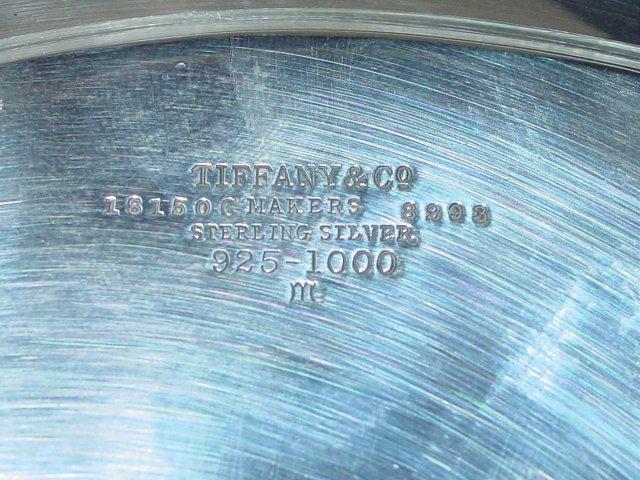 Antque small salver Tiffany & Co. America 1911