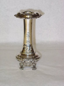 Antique flower vase Gorham & Co. America 1868