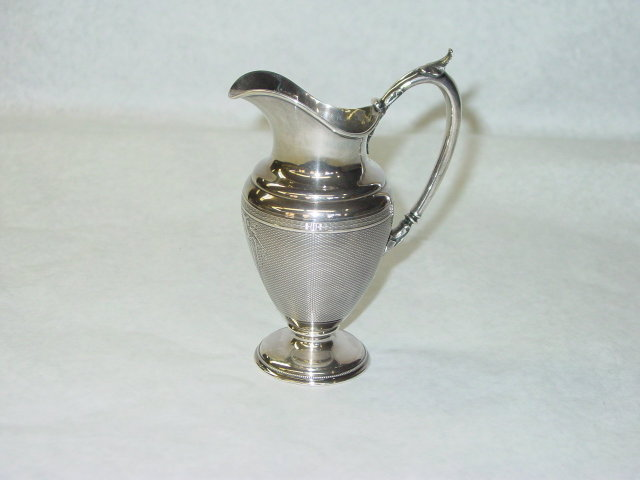 Antique small ewer Gorham & Co. America 1859