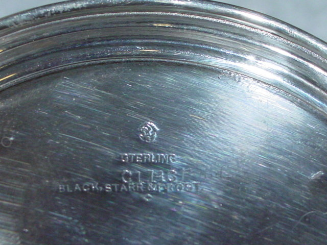 Antique mug Black Starr & Frost America 1900