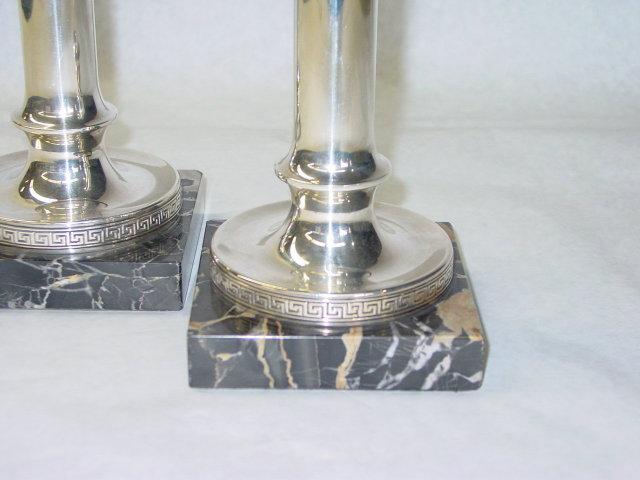 Antique pair candlestick Gorham & Co. America 1900