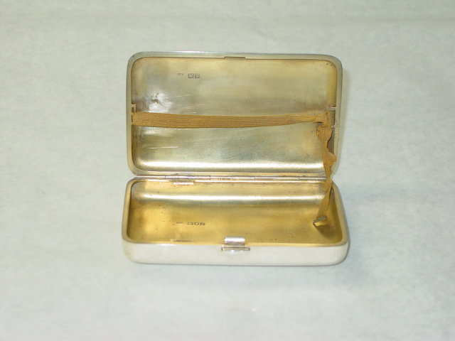 Antique big snuffbox London 1902