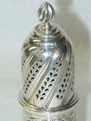 Antique sugar caster Sheffield 1901