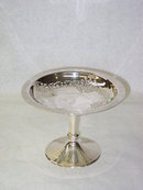 Antique pierced compote  Birmingham 1923