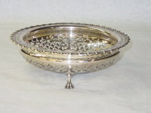 Antique pierced basket Sheffield 1921