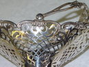 Antiques pierced candies basket Birmingham 1910