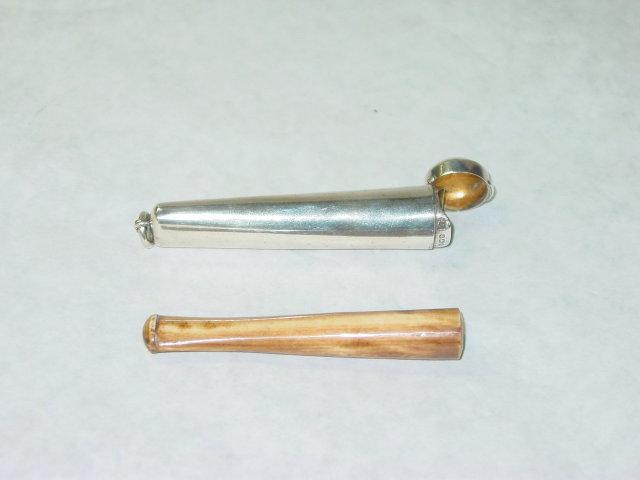 Antique mouthpiece holder Birmingham 1907