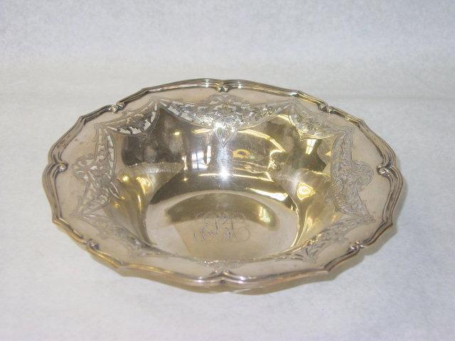Antique candies bowl Alvin America 1919