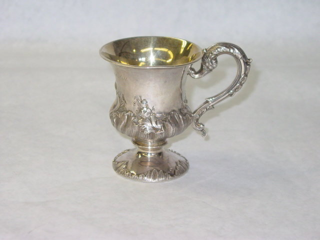 Antique baby cup William IV London 1833