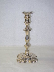 Antique candlestick London 1900