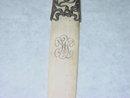 Antique ivory letter opener Gorham & Co. America 1900