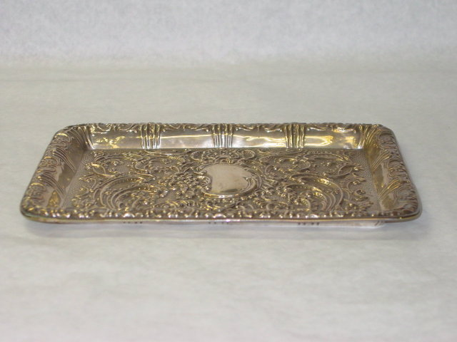 Antique mail tray Chester 1906