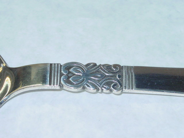 Antique rice spoon Denmark 1935