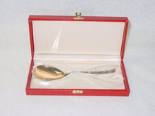 Antique baptismal spoon Denmark 1900