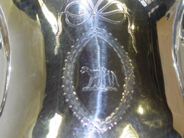 Antique pair cups George III Dublin 1790