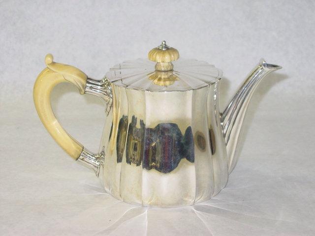 Antique tea pot London 1897