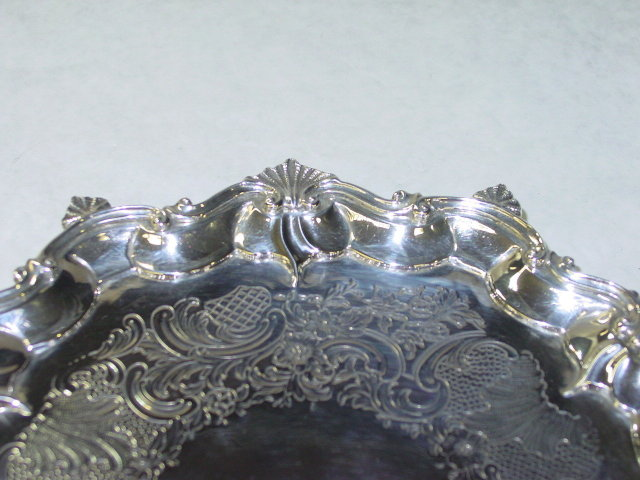 Antique salver George III London 1796