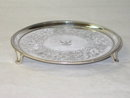 Antique salver George III London 1781