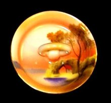 Noritake Ring Dish - Scenic