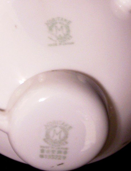 Noritake Azalea Mayo Bowl with Ladle