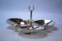 Tiffany & Co. Sterling Silver Art Modern Serving Dish