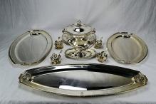 Klinkosch Austrian 900 Silver Neo-Classical Style Serving Set