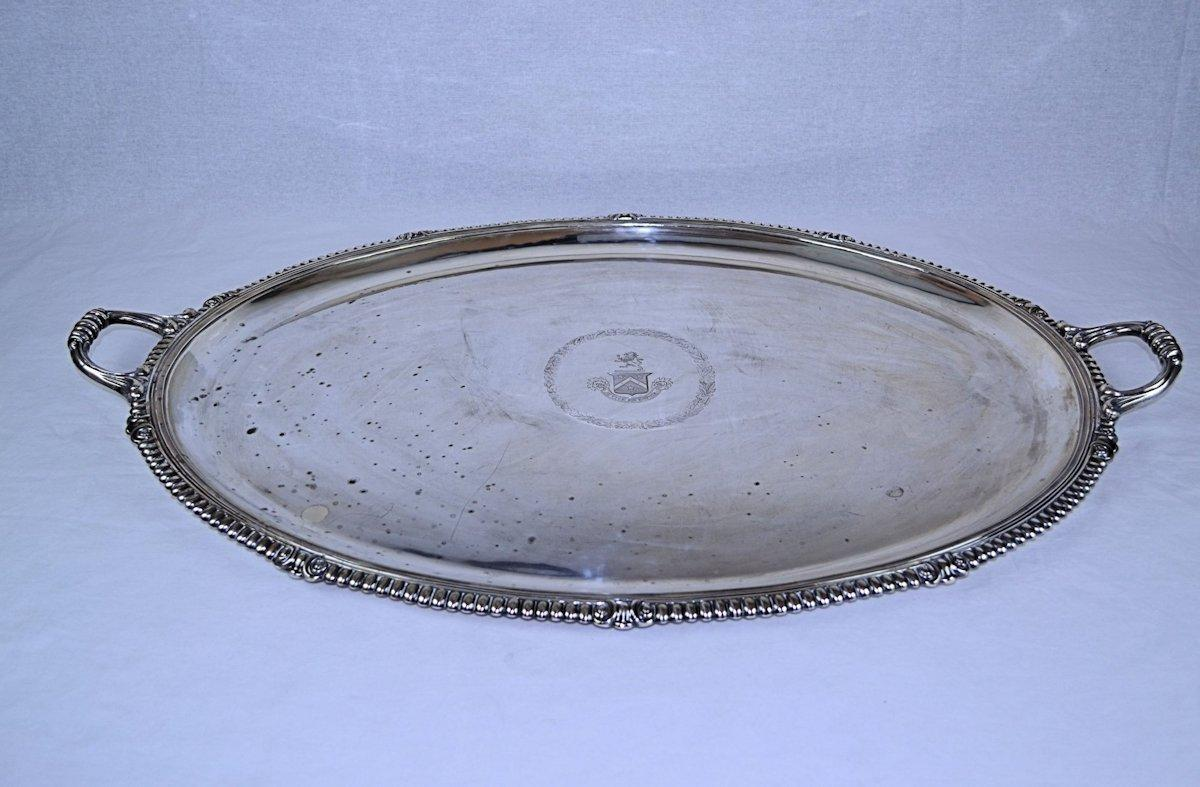 French Sterling Silver Waiter Tray