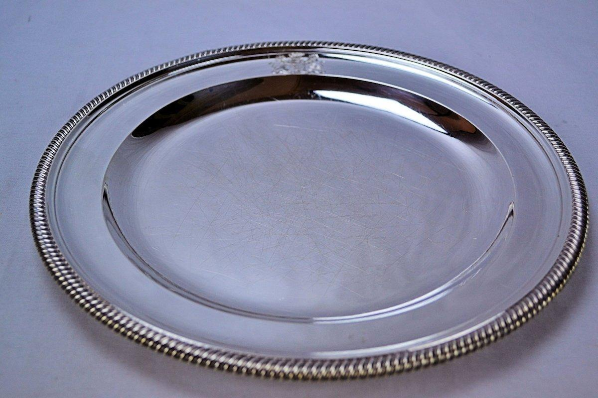 Robert Sharp English George III Sterling Silver Plates (Set of 12)