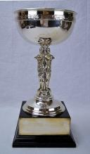 English George V Sterling Silver Trophy Bowl