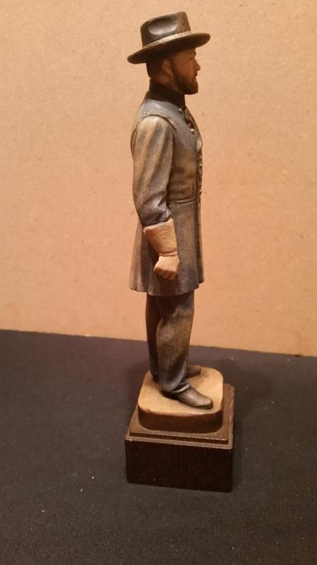 Anri Ulysses S Grant Hand Carved