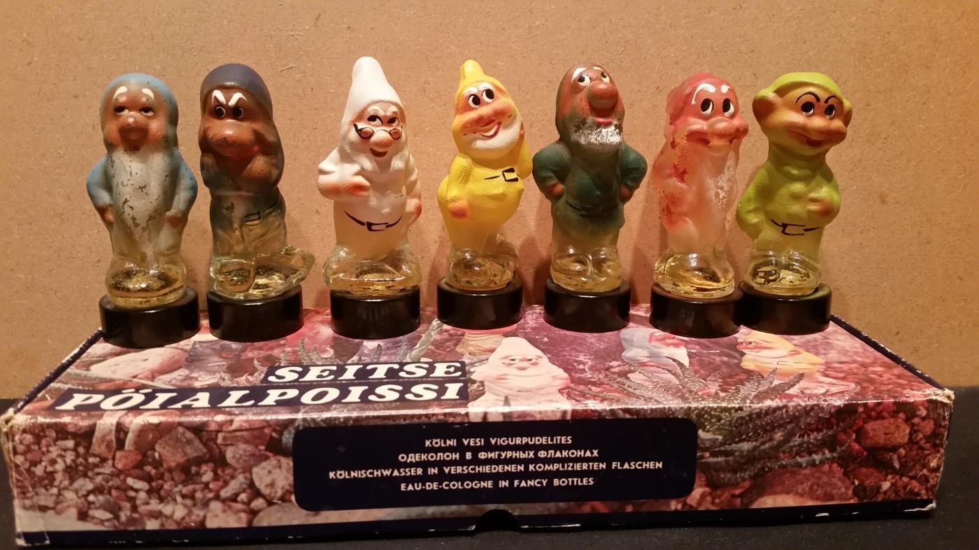 Disney Dwarfs Perfume Full w/Box Germany