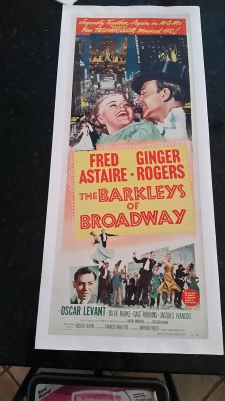 Movie Poster The Barakleys of Broadway Fred & Ginger