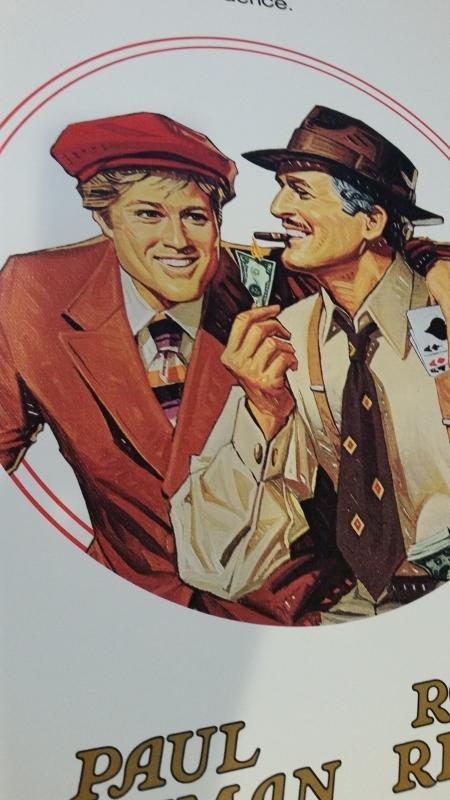 Movie PosterThe Sting Redford and Newman