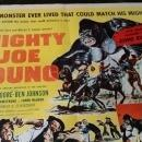 Movie Poster Mighty Joe Young R-53 Original 1/2 Sheet