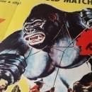Movie Poster Mighty Joe Young R-53 Original 1/2 Sheet
