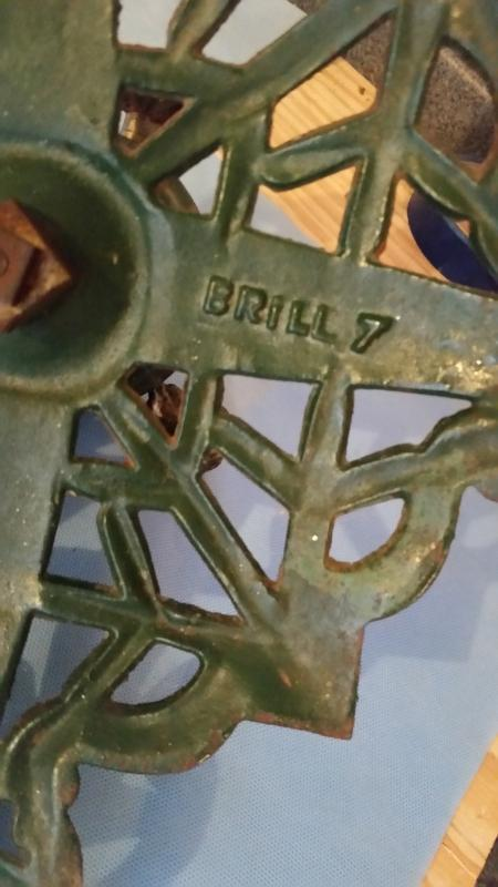 German Christmas Tree Stand Cast Iron Vintage