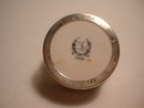 Individual Lenox Salt with Sterling Silver Holder