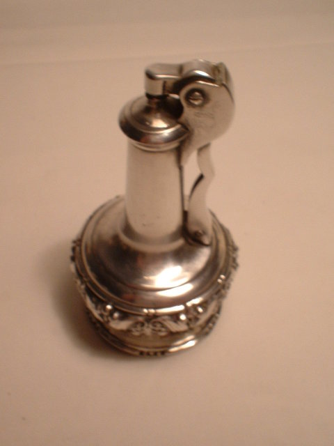 Ronson Silverplated Table Lighter