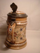 Antique Mettlach Stein