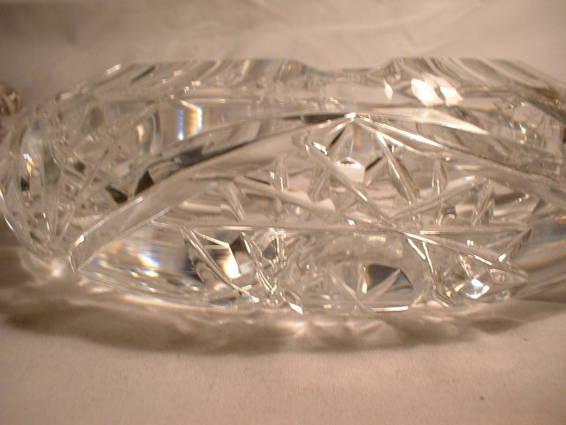 Cut Glass Ash Tray
