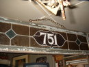 Leaded Glass Transom Window