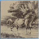 Antique English Series Picture Tile - William Wise