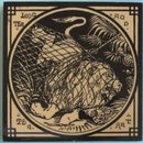 Antique English Picture Tile - Mintons China Works - Aesop's Fables