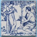 Antique Josiah Wedgwood & Sons Picture Series Tile
