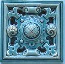 Antique English Wedgwood Majolica Tile