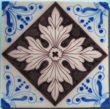 Late 19th Century Dutch Tin-Glaze Tile