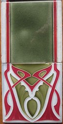 Antique German Jugendstil Tile Panel #2 - Tonwerke Offstein