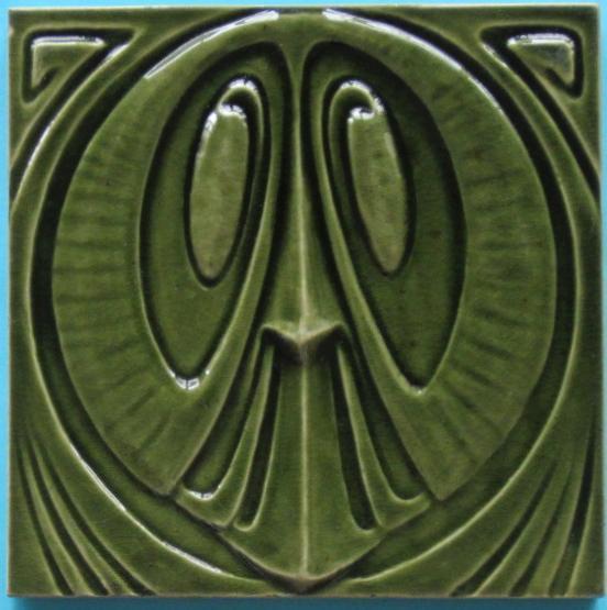 Antique German Art Nouveau/Jugendstil Tile