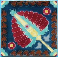 Antique Rako Jugendstil/Nouveau Tile